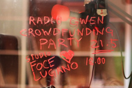 Radio Gwen: wemakeit Crowdfunding party!